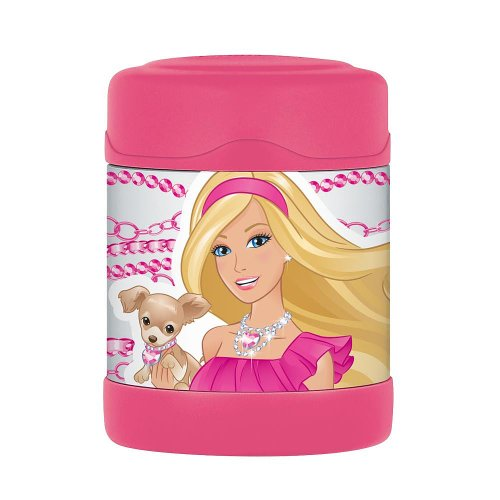 Thermos FUNtainer Food Jar - Barbie and Puppy