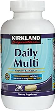 Costco Kirkland Signature Daily Multi Vitamins and Minerals Tablets - by Costco