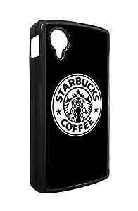 Google Nexus 5 Fundas Case Starbucks Brand Logo, Art Google Nexus 5 Fundas Case Brand Logo for Girls Premium