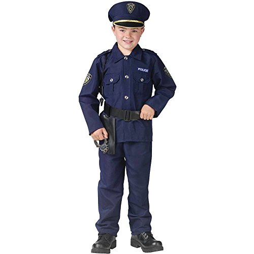 Fun World Policeman Kids Costume