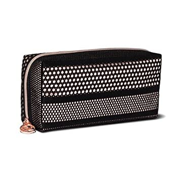 13f0ebd5e5c Amazon.com : Sonia Kashuk - Cosmetic Bag Makeup Organizer Mesh with Metallic  Black : Beauty