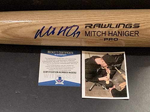 Mitch Haniger Seattle Mariners Autographed Signed
