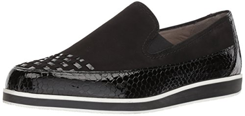 ara Women's Laurel Loafer Flat, Black Snake Combo, 7.5 M UK (10 US)