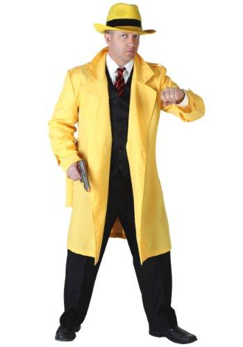 1920s Detective Costume (Fun Costumes mens Yellow Jacket Detective Costume Standard)