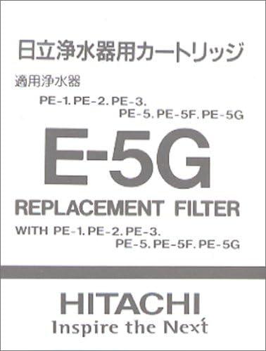 Purificador de agua de HITACHI medio filtrante E-5G (Jap?n importaci?n / El paquete y el manual est?n escritos en ...