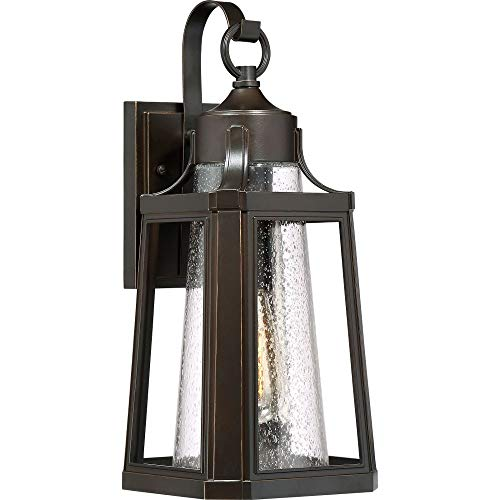 (Quoizel LTE8407PN Lighthouse Outdoor Lantern Wall Sconce, 1-Light, 100 Watts, Palladian Bronze (17