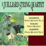 Sessions: String Quartet No. 2 / Wolpe: String Quartet / Babbitt: Spring Quartet No. 4