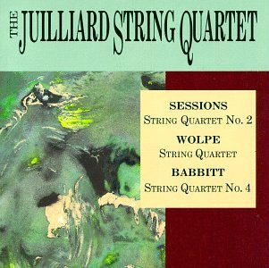 Free Sessions: String Quartet No. 2 / Wolpe: String Quartet / Babbitt: Spring Quartet No. 4
