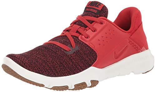 Nike Men's Flex Control TR3 Sneaker, Mystic red/Black - sail - Golden, 11 Regular US (Nike Pre Montreal Sneaker)