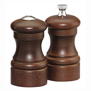 Capstan Salt Shaker Set Finish: Walnut