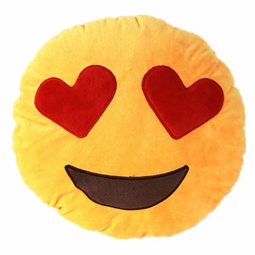 NO:1 Emoji Smiley Emoticon rond coussin oreiller en peluche