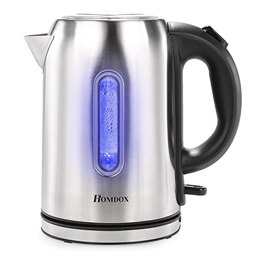 Homdox Royal Electric Kettles  - Fast Boiling Stainless Stee