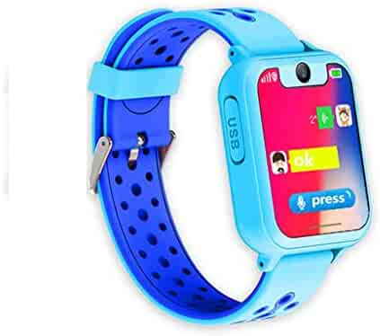 Kid Phone Smart Watch,Tonsee Positioning Kids Safe Inteligent Watch,LPS Tracker Anti-Lost Camera SOS ClockDS for Boys Girls 3~12 Years Old