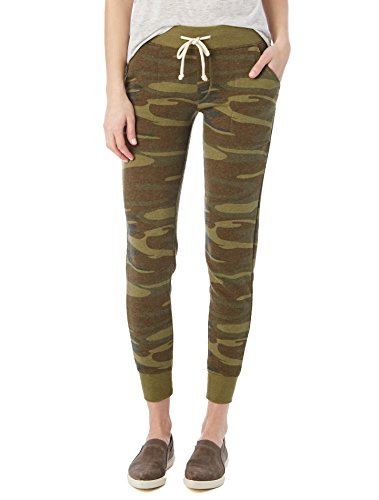 Camo Capri Sweatpants - 1