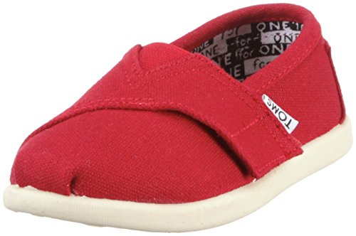 (TOMS Classic Red Canvas 013001D13-RED Tiny)
