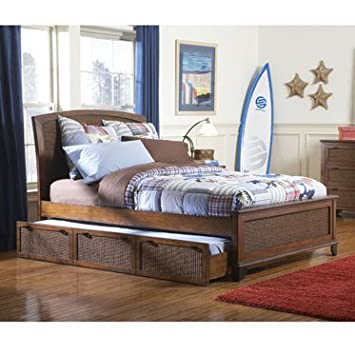 Newport Complete Queen Size Bed With Twin Trundle 276 046 276 048