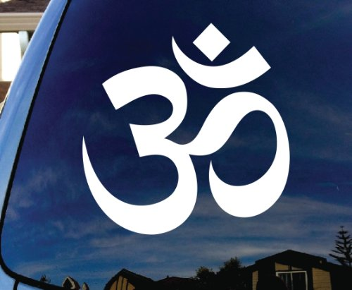 SoCoolDesign OM Symbol Hindu Car Window Vinyl Decal Sticker 4