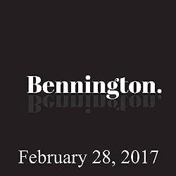Bennington, February 28, 2017