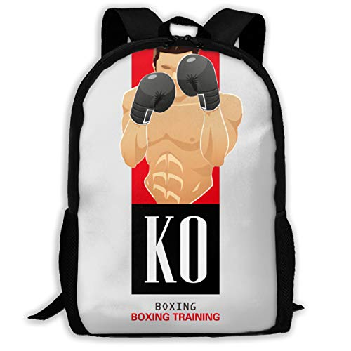 KO Boxing Fight Boxing Training Sport Style Adult Unisex Shoulders Bag Boxing Hand Wraps,boxing Equipment