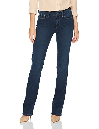 NYDJ Women's Marilyn Straight Leg Jeans In Future Fit Denim, Rome, 4 Best Straight Leg Jeans