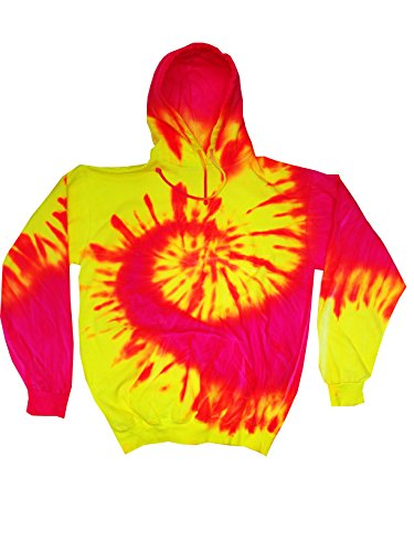 pink and yellow tie dye - 2