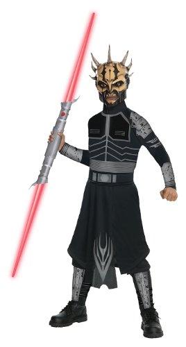 Rubies Costumes Star Wars Clone Wars - Savage Opress Child Costume Brown (Child Savage Opress Mask)