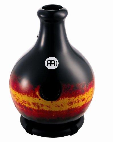 Meinl Percussion ID1BKR Large Premium Fiberglass Ibo Drum, Black/Red