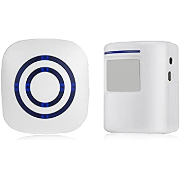1byone wireless home security driveway alarm instructions