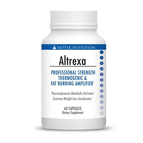 Altrexa by Biotek Nutrition Powerful Thermogenic Diet Pill Fat Burner for Fast Weight Loss