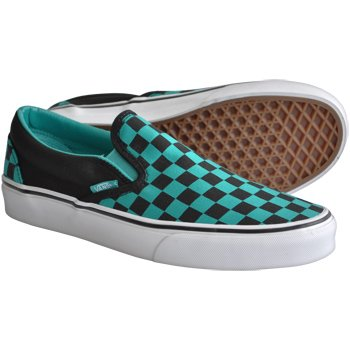 slip on checkerboard vans uk