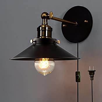 Amazon.com: Globe Electric LeClair 1-Light Plug-In or