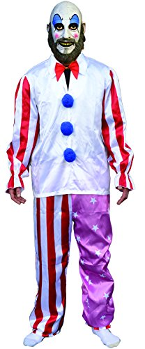 Trick or Treat Studios Men's House Of 1 000 Corpes-Captain Spaulding Costume, Multi, One Size (Trick Or Treat Costumes)