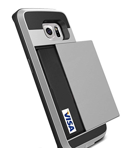 Image of Galaxy S6 Edge Case, Anuck Galaxy S6 Edge Wallet case [