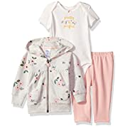 Carter's Baby Girls' 3 Pc Sets 127g223, Floral, 12M