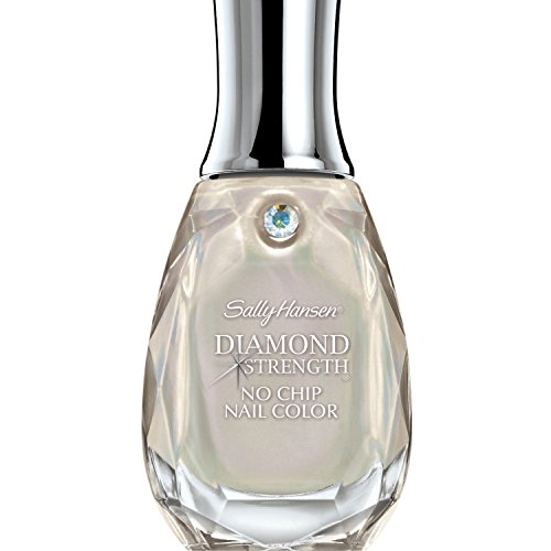 Sally Hansen Diamond Strength No Chip Platinum Nail Color for Women, 0.45 Ounce