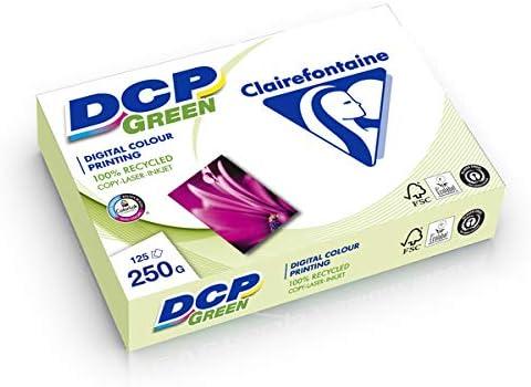 DCP green Kopierpapier, A4, weiß, 250g, 125 Blatt, Recycling,