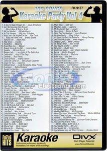 VocoPro FH9137 Karaoke Party DIVX DVD Volume 4 - 5 Disc Karaoke Player