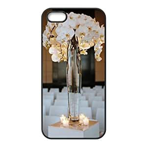 The beautiful vase DIY Cover Case with Hard Shell Protection for Iphone 5,5S Case lxa#480335