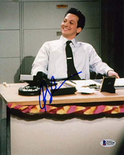 Rob Schneider SNL Richmeister Copy Guy 'Makin Copies!' Signed 8x10 Photo Beckett BAS BGS Certified Authentic COA