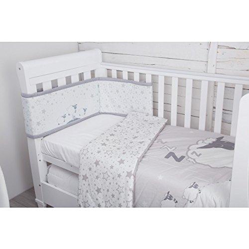 CuddleCo Comfi Dreams 4 Piece Bedding Set - Sleepy Sheep