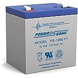 Powersonic PS-1250F1 - 12 Volt/5 Amp Hour