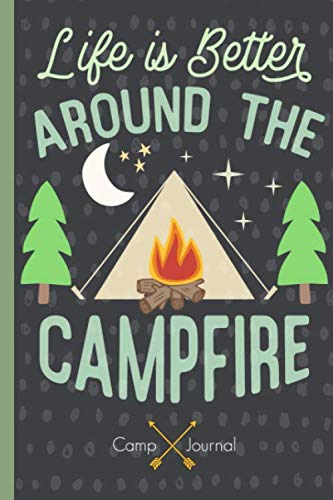 Camp Journal: Camping log book with simple prompts, record memories & treasure this keepsake for years to ()