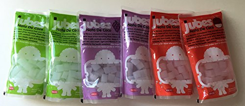 - Jubes Nata De Coco Pack of 6 (Assorted Combo)