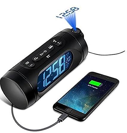 Despertador Proyector, Kozy Life Relojes de proyección con ...