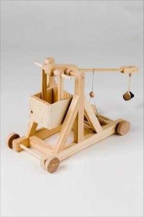 Amazon.com: Timberkits trebuchet en miniatura.: Industrial ...
