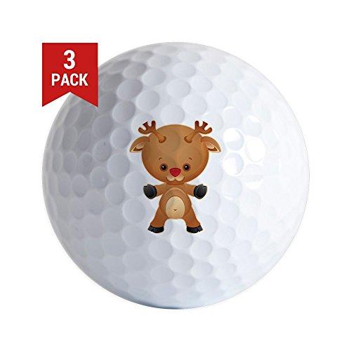 Golf Balls (Set of 3) Christmas Cuties