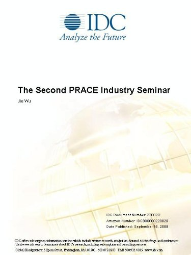 The Second PRACE Industry Seminar Jie Wu