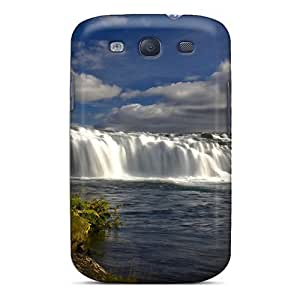 Top Quality Rugged Free Waterfalls River Falls Case Cover For Galaxy S3