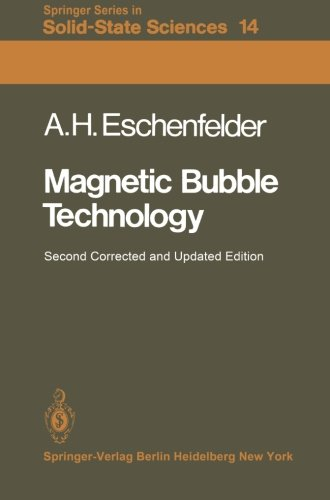 Magnetic Bubble Technology (Springer Series in Solid-State Sciences) by Brand: Springer