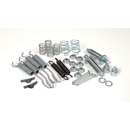 Eckler's Premier Quality Products 80-244762 - Chevy Brake Hardware Kit Rear
